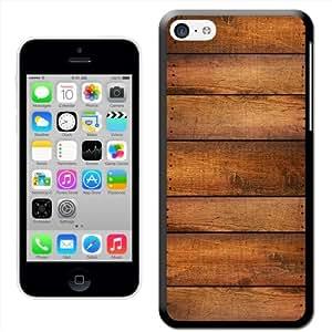 Fancy A Snuggle 'Cabin de pared listones de madera carcasa' carcasa rígida para Apple iPhone 5C