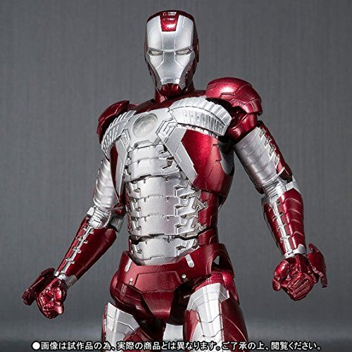 Bandai S.H.Figuarts Iron Man Mark 5 Action Figure, 6.2-Inch