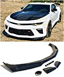 For 2016-2018 Chevrolet Camaro SS Models | ZL1 1LE Style ABS Plastic PAINTED CARBON FLASH METALLIC Front Bumper Lower Lip Splitter