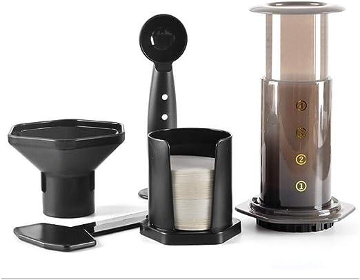 W&Z Cafetera Manual portátil Espresso Press Olla cafetera Espresso ...