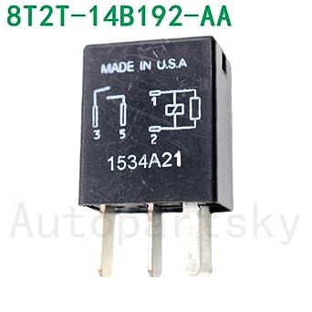 1PC #OEM Relay 8T2T-14B192-AA Hight Power Relay 8T2T14B192AA 8T2T 14B192 AA 8T2T14B192-AA O101K