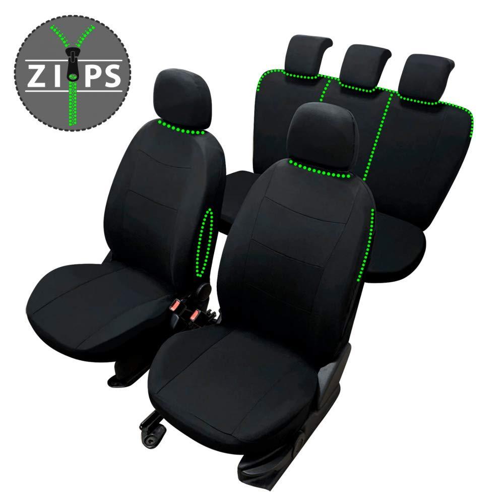 compatibili con sedili con airbag rmg-distribuzione Coprisedili per Captiva Versione bracciolo Laterale sedili Posteriori sdoppiabili R21S0078 2006-2015