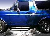 nerf bars brackets - MaxMate Premium Custom Fit 80-96 Bronco (Full Size)/F-Series /Regular Cab Black 3