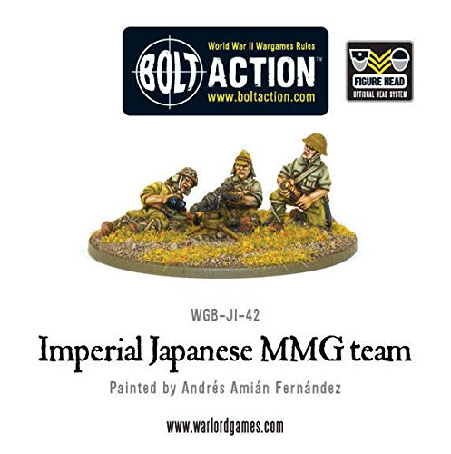 Imperial Japanese Mmg Team Warlord Games WGB-JI-42 Bolt Action