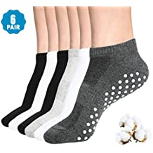 Womens & Mens Low Cut Socks,DIBAOLONG 6-Pair Ankle No Show Athletic Short