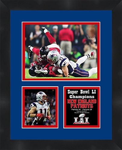 Frames by Mail Super Bowl 51 Julian Edelman New England Patriots Framed Photo