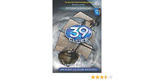 Ebook Storm Warning The 39 Clues 9 By Linda Sue Park