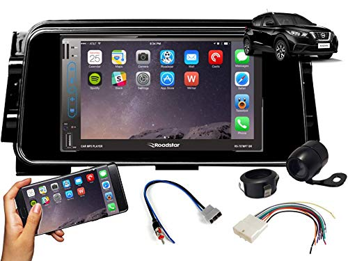 Central Multimídia Nissan Kicks Gps Tv Esp. Android E Ios Black Piano