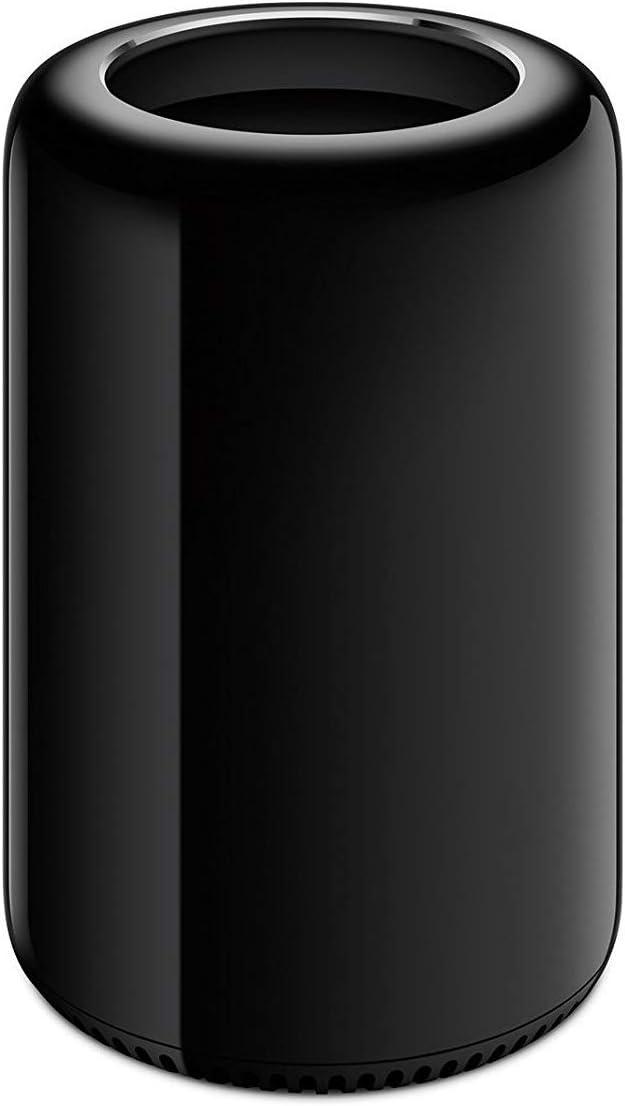 Apple Mac Pro Desktop Computer - Intel Xeon E5 3.7GHz Quad-Core CPU, 64GB RAM, 256GB SSD, ME253LL/A (Renewed)