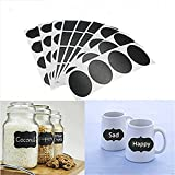 Best Garden Tools 36PCS Chalkboard Stickers Labels Decals Hanging Tags Vinyl Kitchen Jar Cup Bottle Sticks Decor