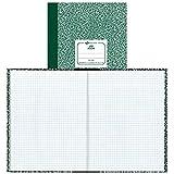National Brand Lab Book, 5 x 5 Quad, Green
