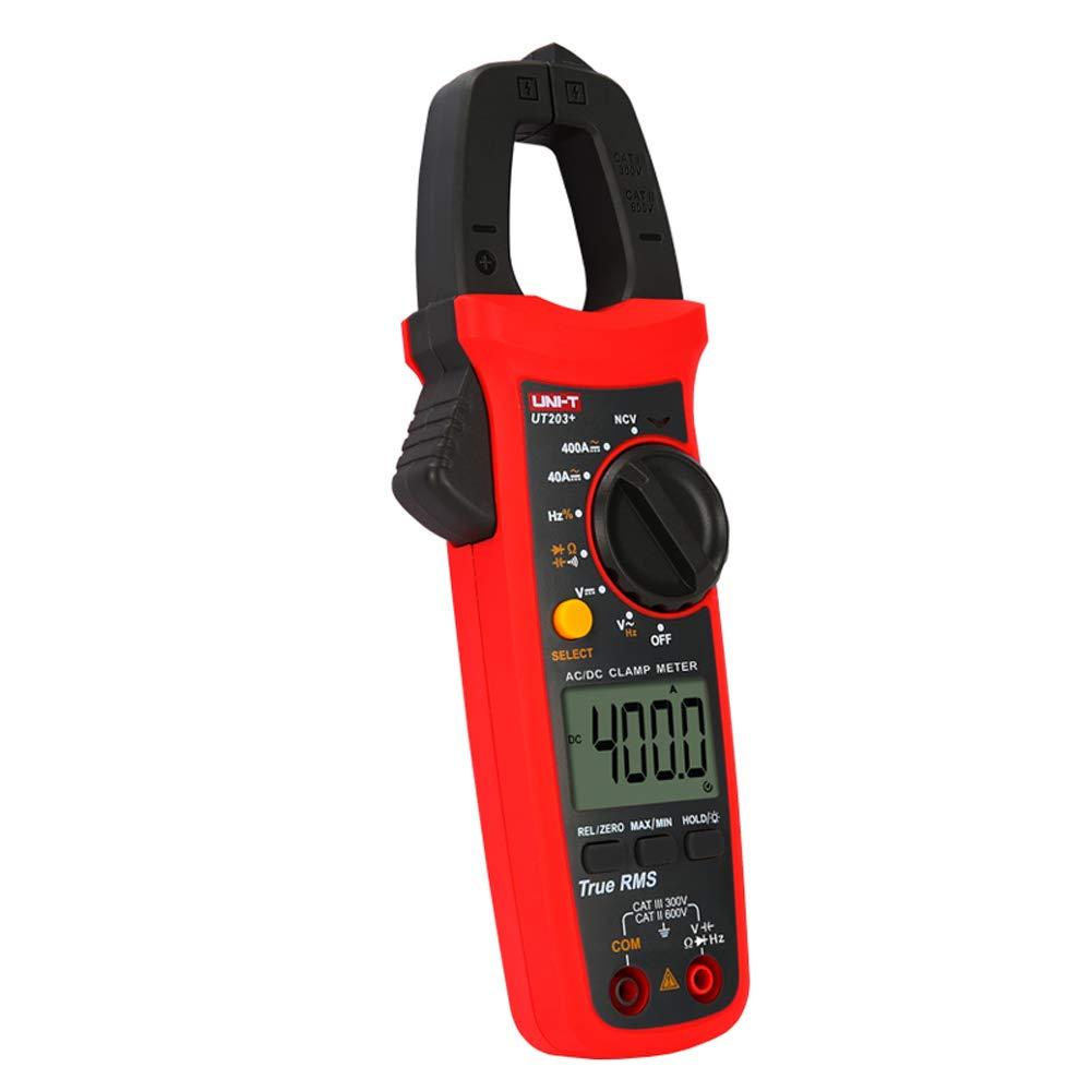 Uni T Ut203 Digital Clamp Meter Ac Dc Current Auto Range True Rms Max Min Backlight Multimeter Gewerbe Industrie Wissenschaft