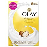 Olay Moisture Outlast Ultra Shea Butter Beauty Bar 90g, 8 Count