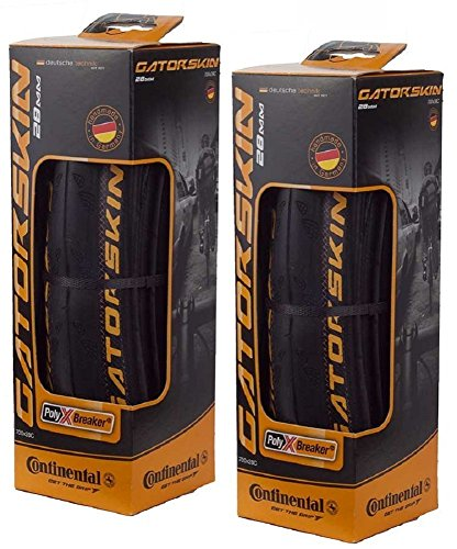 Touring Bike Tires (Continental GatorSkin DuraSkin Tire, 2-Count (Folding, 700 x 25mm))