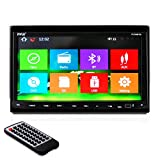 Pyle PLDNB78i Headunit Receiver 7-Inch Stereo Radio, GPS Navigation, Bluetooth, Touch Screen, Double DIN