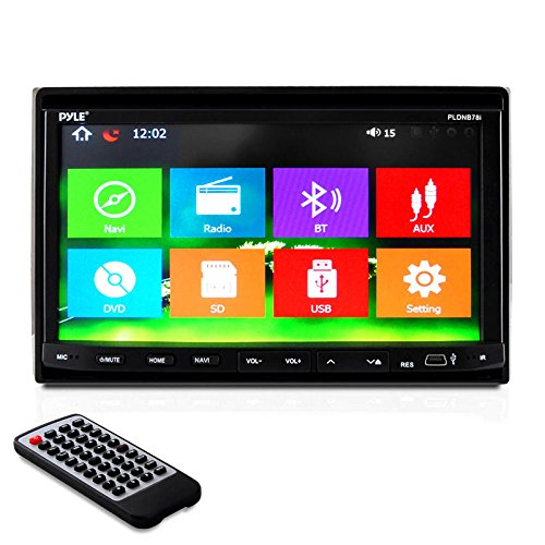 Pyle PLDNB78i Headunit Navigation Bluetooth