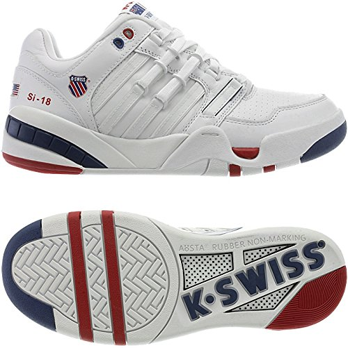 K-Swiss SI-18 Intl OG - Zapatillas unisex, color blanco