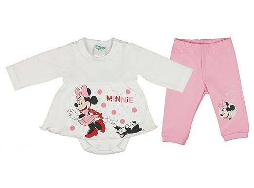 separation shoes a2d68 f2f6a Mädchen BABY-SET 2-teilig von Minnie Mouse in GRÖSSE 56, 62 ...