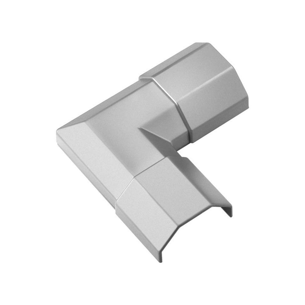 Goobay 90780 WireDuct Corner Connector 33 Argent