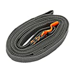 Gracefulvara 2-5 M Outdoor Travel Strapping Cord Tape Rope Tied Pull Luggage Stainless Hook