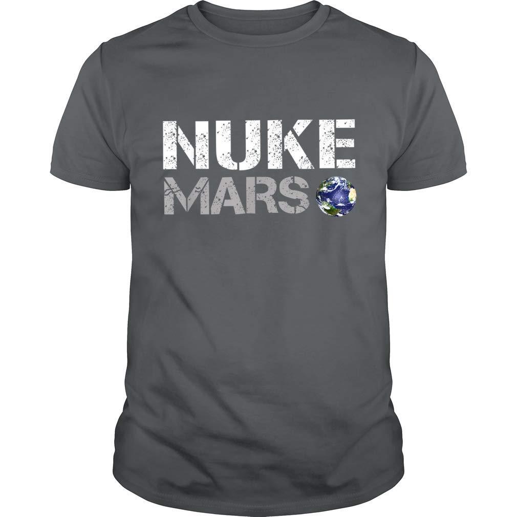 Elon Shirt Musk Nuke Mars Gift Tee