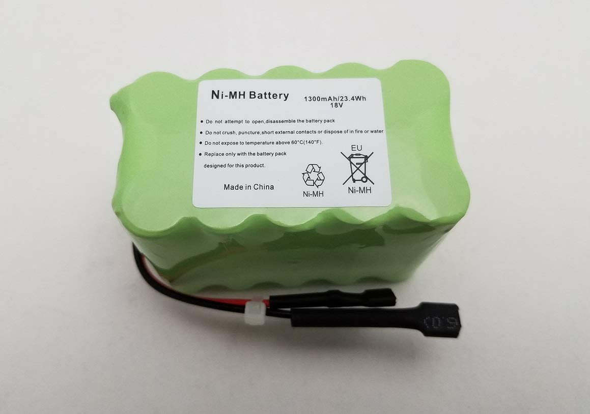 Kennedy Webster 18V 1300mAh Ni-MH Rechargeable Replacement Battery for Shark XB780N SV760 SV780 N-Series