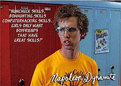 Napoleon Dynamite Trading Card Jon Heder Numchuck Computer Hacking Bowhunting Skills 2005 Nd9 At Amazon S Entertainment Collectibles Store