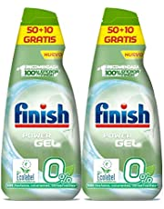 Finish Power Gel 0% afwasmiddelgel met ecologisch certificaat
