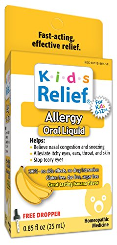(Kids Relief Allergy Oral Solution, .85-Ounce Bottle (Pack of 2))