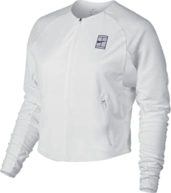 b6ebebb750e1 Nike Women s Court Dri fit Tennis Jacket at Amazon Women s Clothing store