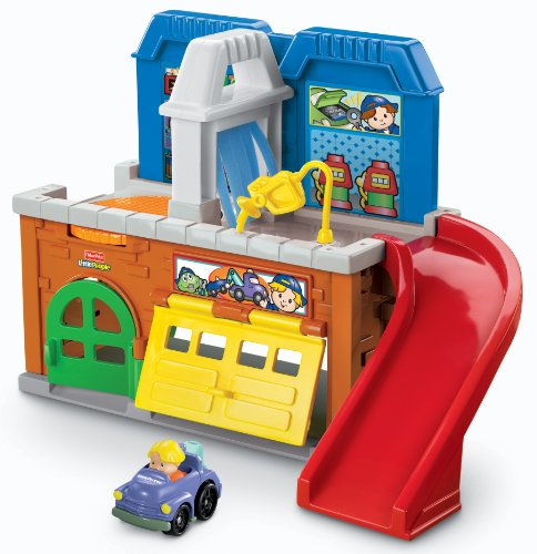 little people wheelies garage - 4