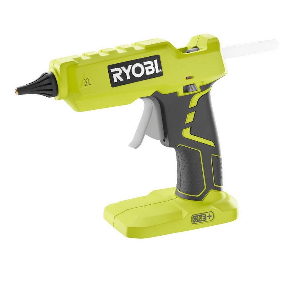 Ryobi 18-Volt ONE+ Cordless Full Size Glue Gun with Charger and 18-Volt ONE+ Lithium-Ion Battery (Bundle) by Ryobi (Image #2)