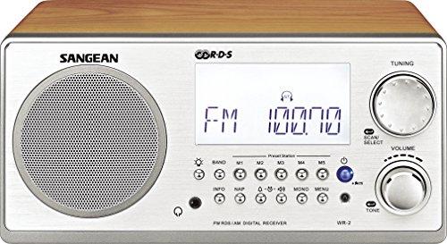Sangean-WR-2 - Radiouhr - 7 Watt