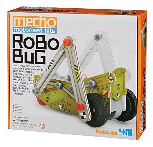 4M KidzLabs Robo Bug Mecho Motorized Kit