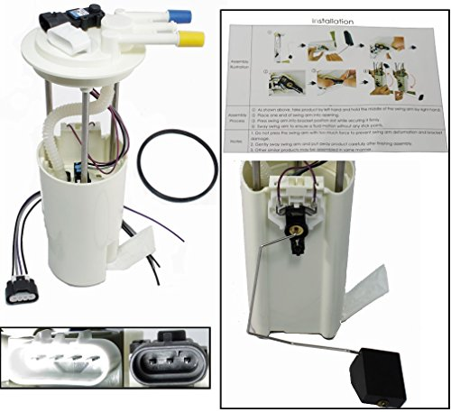 APDTY 19180115 Fuel Pump Module & Level Sending Unit Assembly Fits Non Super-Charged 98-03 Olds Aurora 98-04 Cadillac Seville 00-05 Deville 98-05 Buick Park Avenue 00-05 Lesabre 00-05 Bonneville Pontiac Bonneville Supercharger