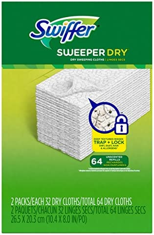picture of Swiffer Sweeper Refills, 64 Ct (Old Version