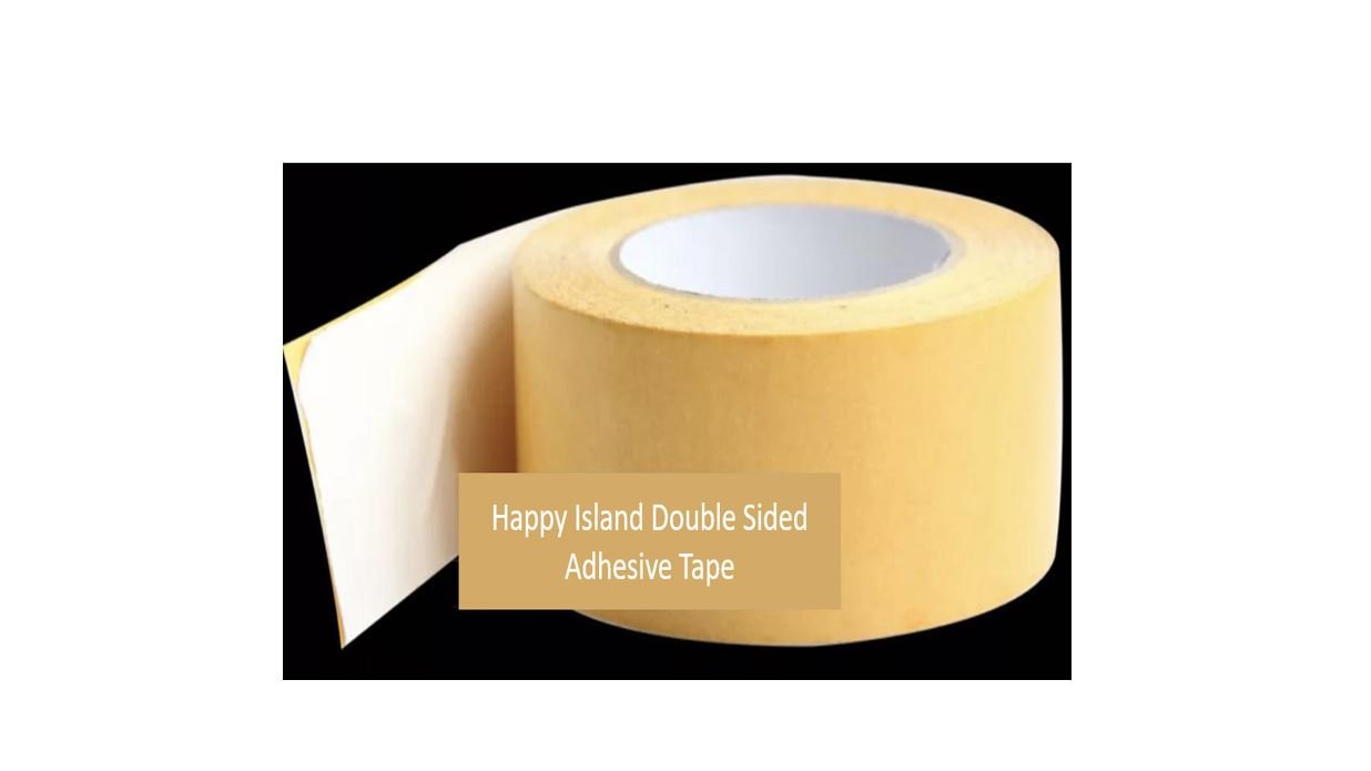 Happy Island Double Sided Adhesive Tape For Rugs, Mats And Pads