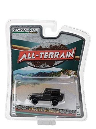 Buy 1990 Jeep Wrangler Dark Grey All Terrain Series 6 1/64