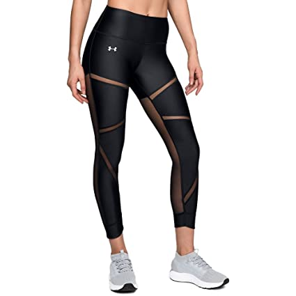c437a2441c695 Amazon.com: Under Armour HeatGear Armour Fashion Ankle Crop: Clothing