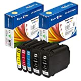 PrintOxe™ Compatible 5 Ink Cartridges for 940XL with Sophisticated XL Chips 940 (2 Black, 1 Cyan, 1 Magenta, & 1 Yellow) Exclusively sold by PanContinent