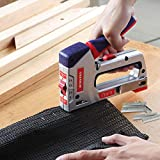 WORKPRO Heavy Duty T50 Staples and Brad Nails Combo