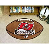 NFL Tampa Bay Buccaneers Football Shaped Accent Rug