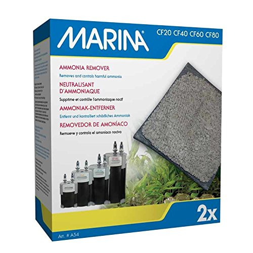 Marina Ammonia Remover (2 Pack) For Canister Filters CF20, CF40, CF60 & CF80
