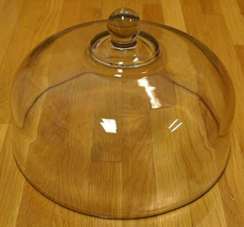 Anchor Hocking Clear Glass Cake Plate Dome Cover - 10 1/8