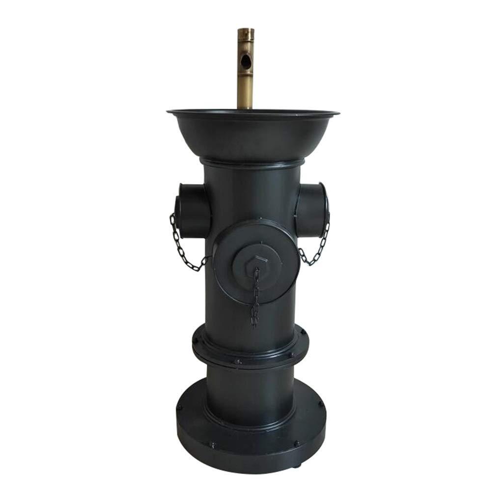 ZYACHI Lavabo Con Grifo Boca De Incendio Estilo Retro Americano Metal Arte De Hierro Lavabo De Pie Color : Bronze