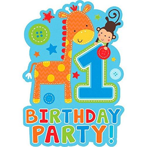 1st Birthday Boy Invitations - 4