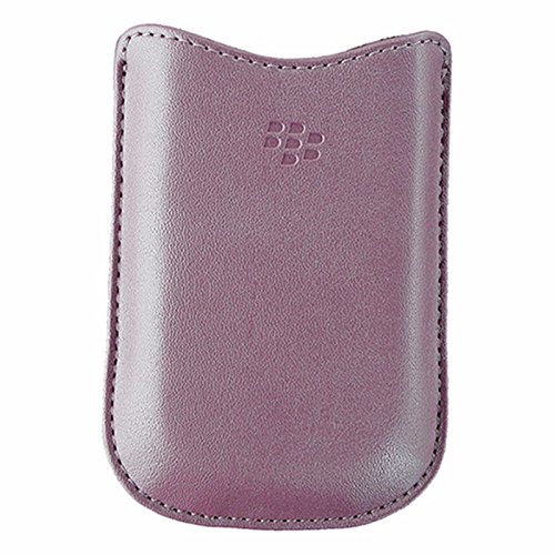 - BlackBerry Leather Sleeve Case for BlackBerry Pearl Flip 8220 - Pink