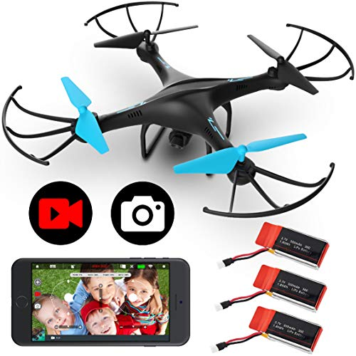 Force1 U45WF Drones with Camera for Adults and Kids - Remote Control...