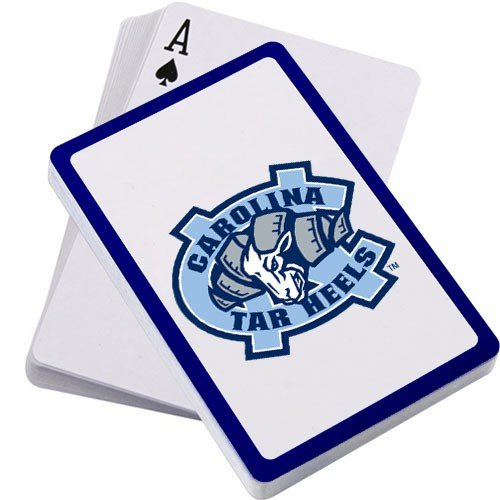 Tar Heels Athletics - Hunter North Carolina Tarheels Playing Cards in Sealed Pack 52 Cards + 2 Jokers