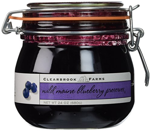 Clearbrook Farms Wild Maine Blueberry Preserves (Blueberry Jam)